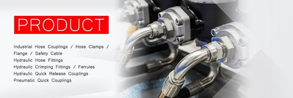 Hydraulic Hose Fittings - TON-WEIGHT MACHINERY MFG CO , LTD